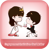 Engagement Invitation Card Maker icon