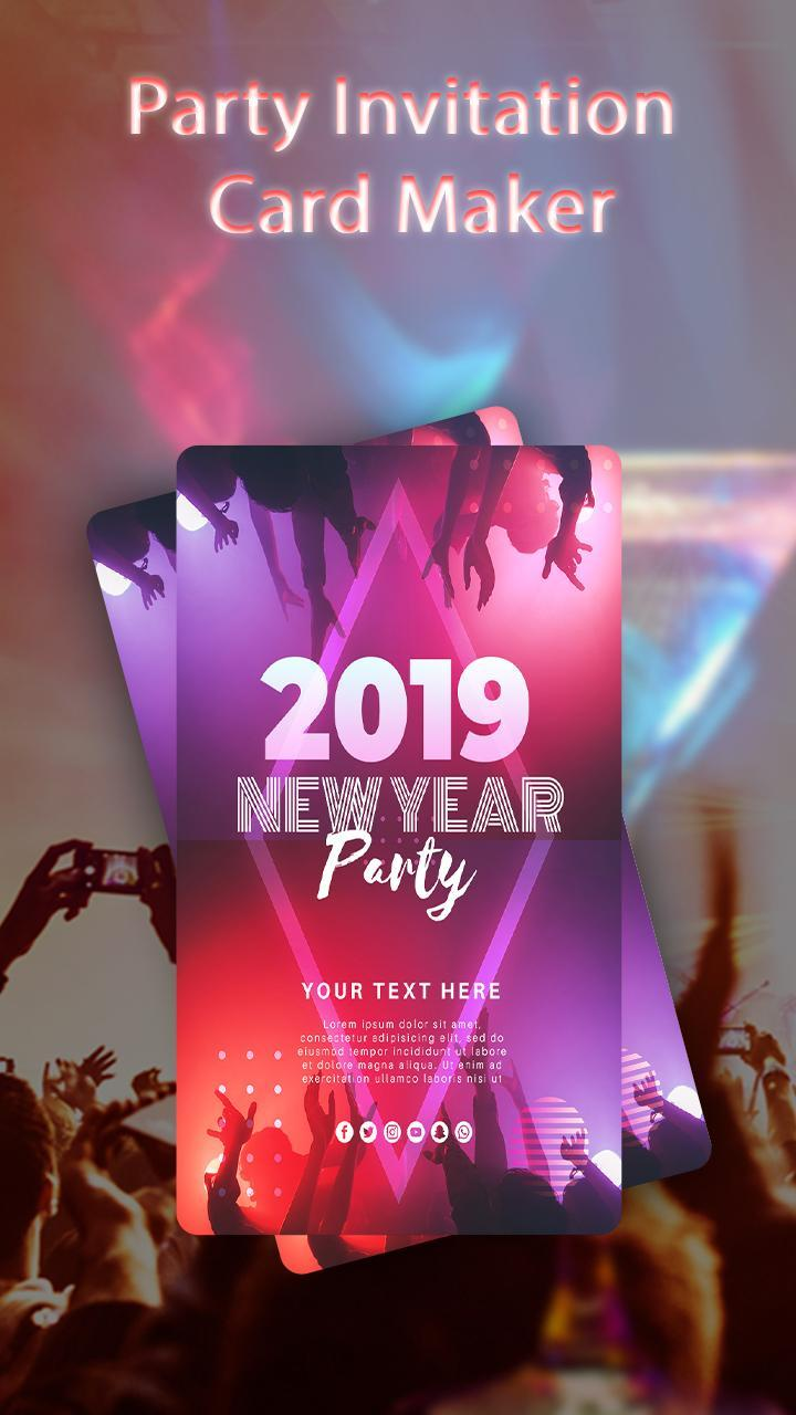 Party Invitation Card Maker For Android Apk Download