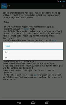 toPhonetics Free screenshot 2