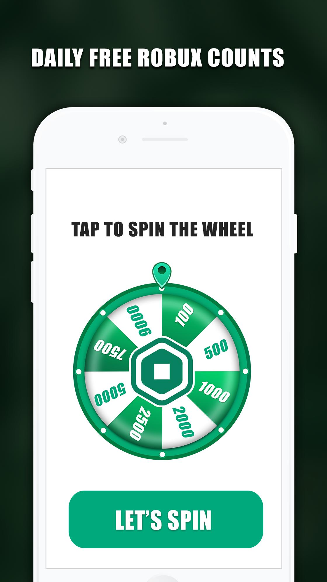 Free Robux Counter Rbx Spin Wheel 2020 For Android Apk