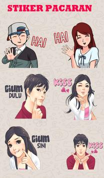 Stiker Chat Pacar poster