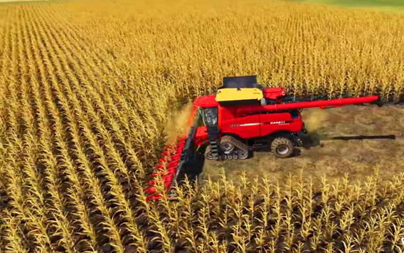 Real Tractor Farm Simulator And Cargo Animals screenshot 2