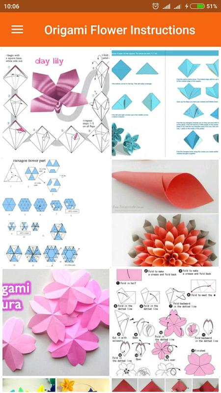 Origami Flowers Instruction For Android Apk Download