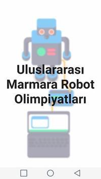 Uluslararası Marmara Robot Olimpiyatları poster