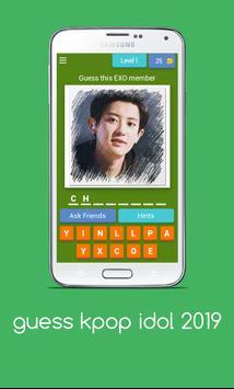 guess kpop idol 2019 poster