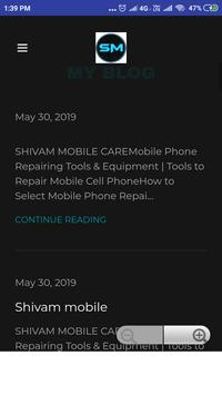 Shivam mobile screenshot 1