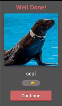 What animal name Quiz screenshot 1