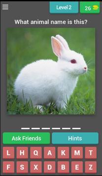 What animal name Quiz screenshot 2