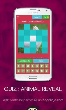 Quiz Animal Reveal screenshot 2