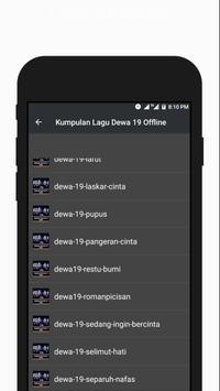 Kumpulan Lagu Dewa 19 Offline Terlaris screenshot 3