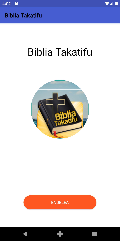 Biblia Takatifu Swahili Bible For Android Apk Download
