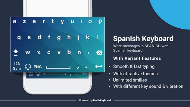 Spanish keyboard new 2019 poster