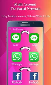 GB MESSENGER - Multi Account Clone Pro poster