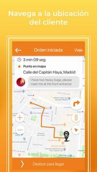 Saytaxi Driver captura de pantalla 2