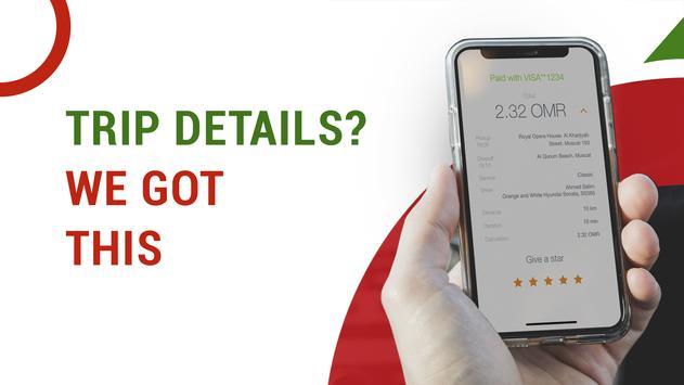 OTaxi: Oman Taxi Booking App screenshot 2