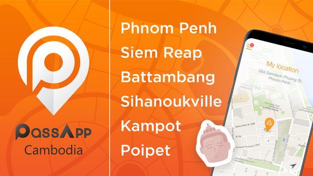 PassApp: Taxi in Cambodia Plakat