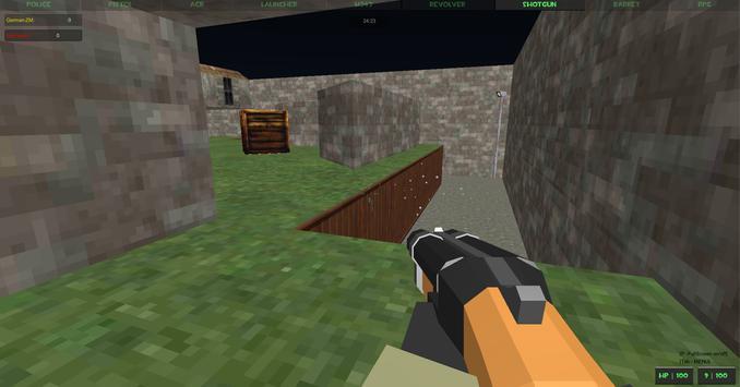 Extreme Crazy Pixel Combat Multiplayer screenshot 5