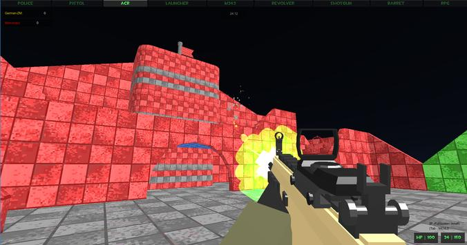Extreme Crazy Pixel Combat Multiplayer screenshot 12