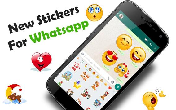 😊WAStickerApps emojis stickers for whatsapp poster