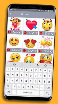 😊WAStickerApps emojis stickers for whatsapp screenshot 4