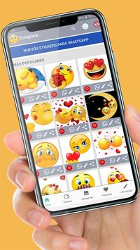 😊WAStickerApps emojis stickers for whatsapp screenshot 5