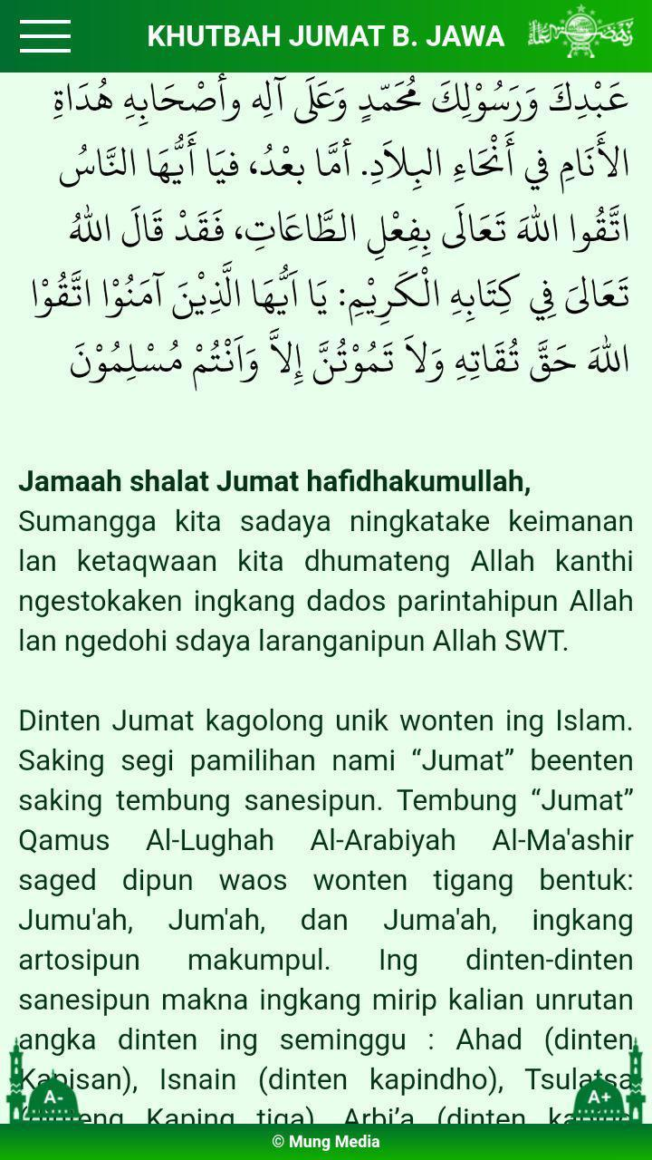 Khutbah Jumat For Android Apk Download