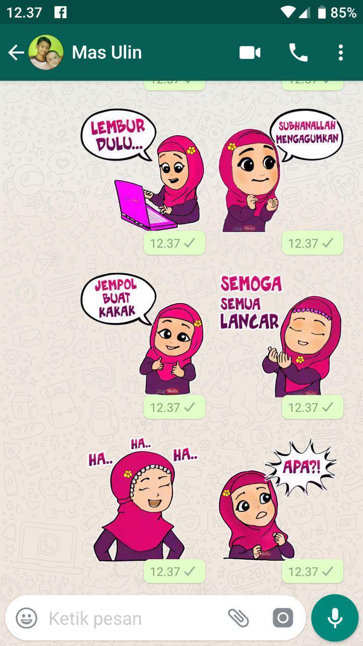 48 Gambar Kartun Islami Beserta Kata Kata HD Terbaru