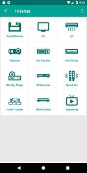 Hisense TV Remote Control App poster