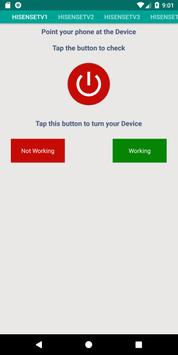 Hisense TV Remote Control App screenshot 2
