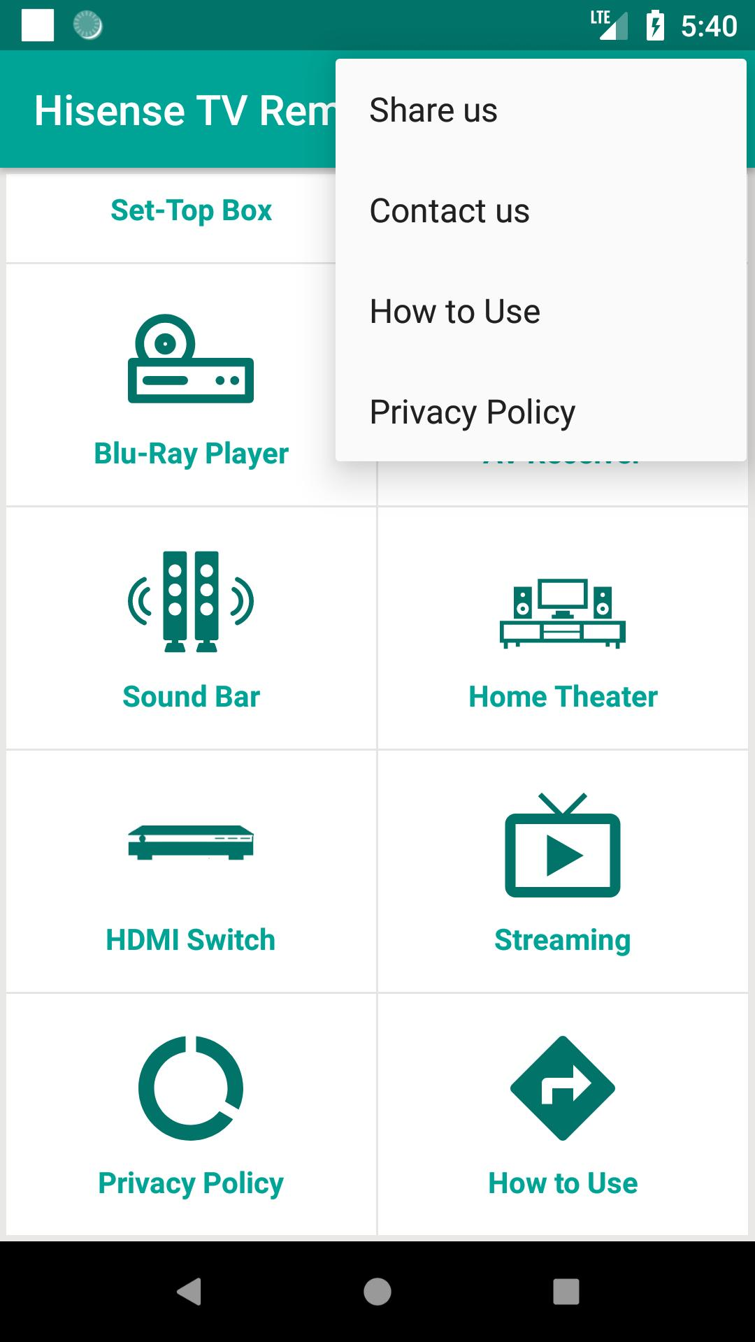 Hisense TV Remote Control App for Android - APK Download