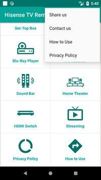 Hisense TV Remote Control App screenshot 7