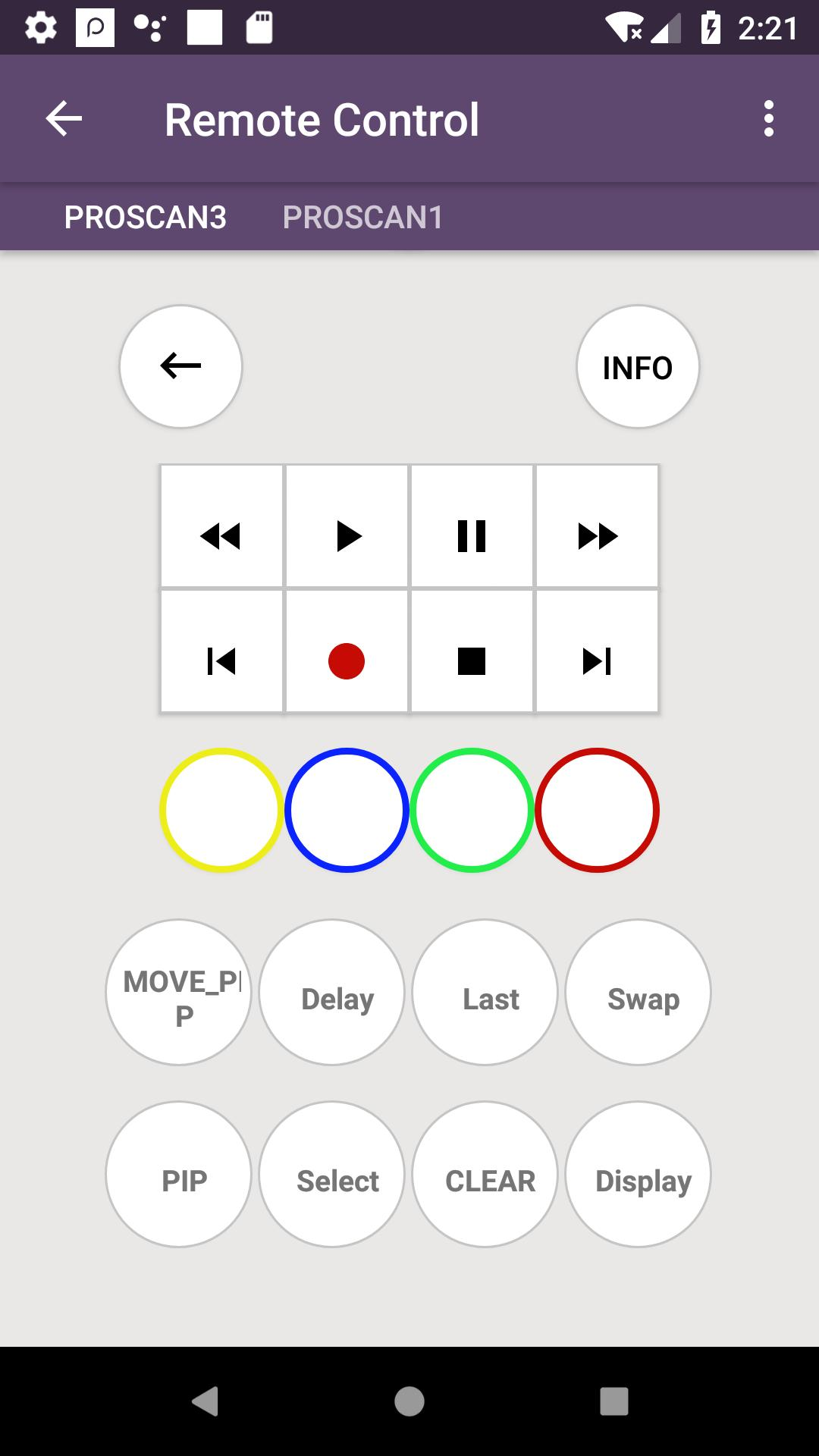 Proscan TV Remote for Android - APK Download