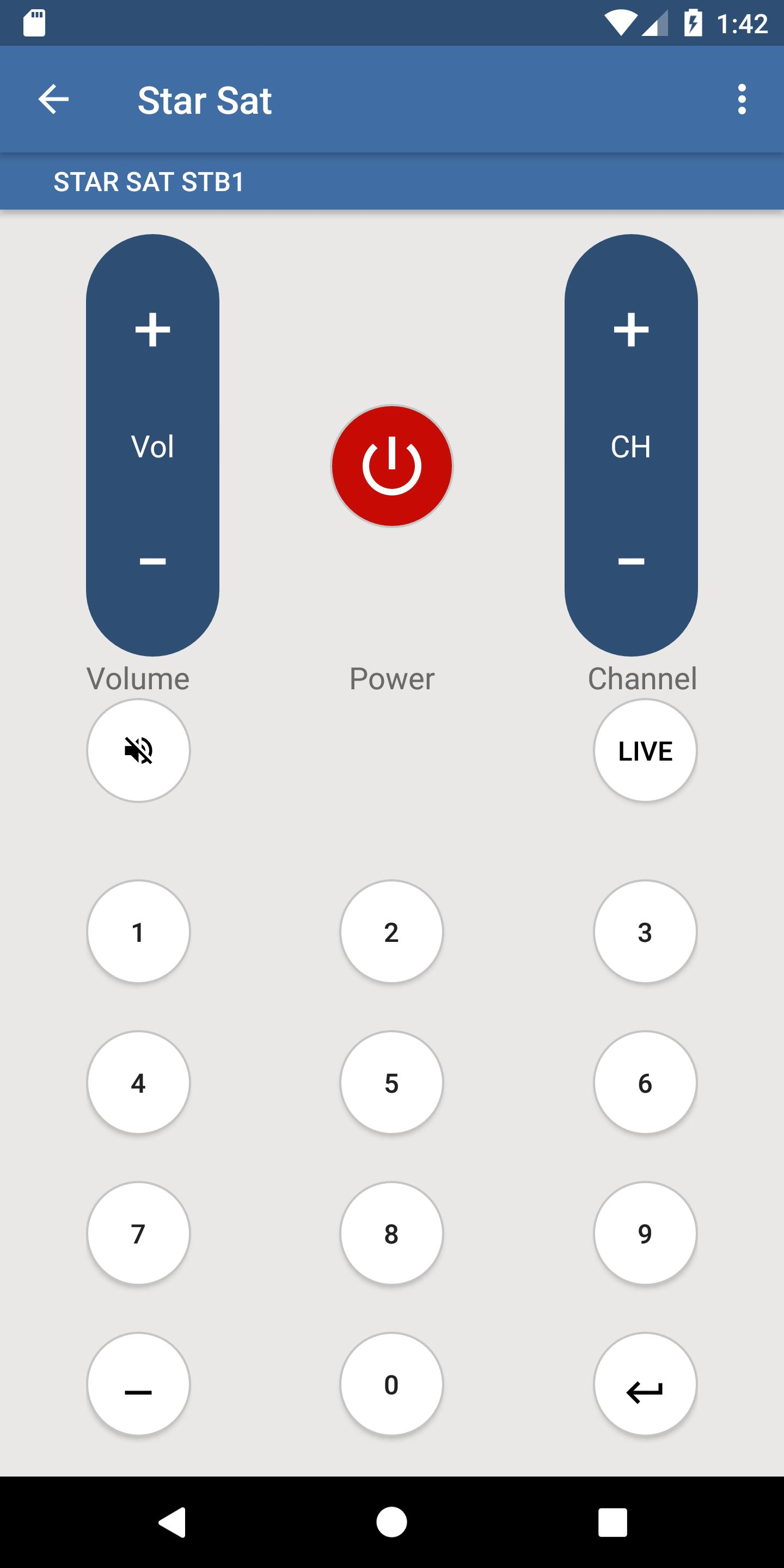 Starsat Remote Control for Android - APK Download