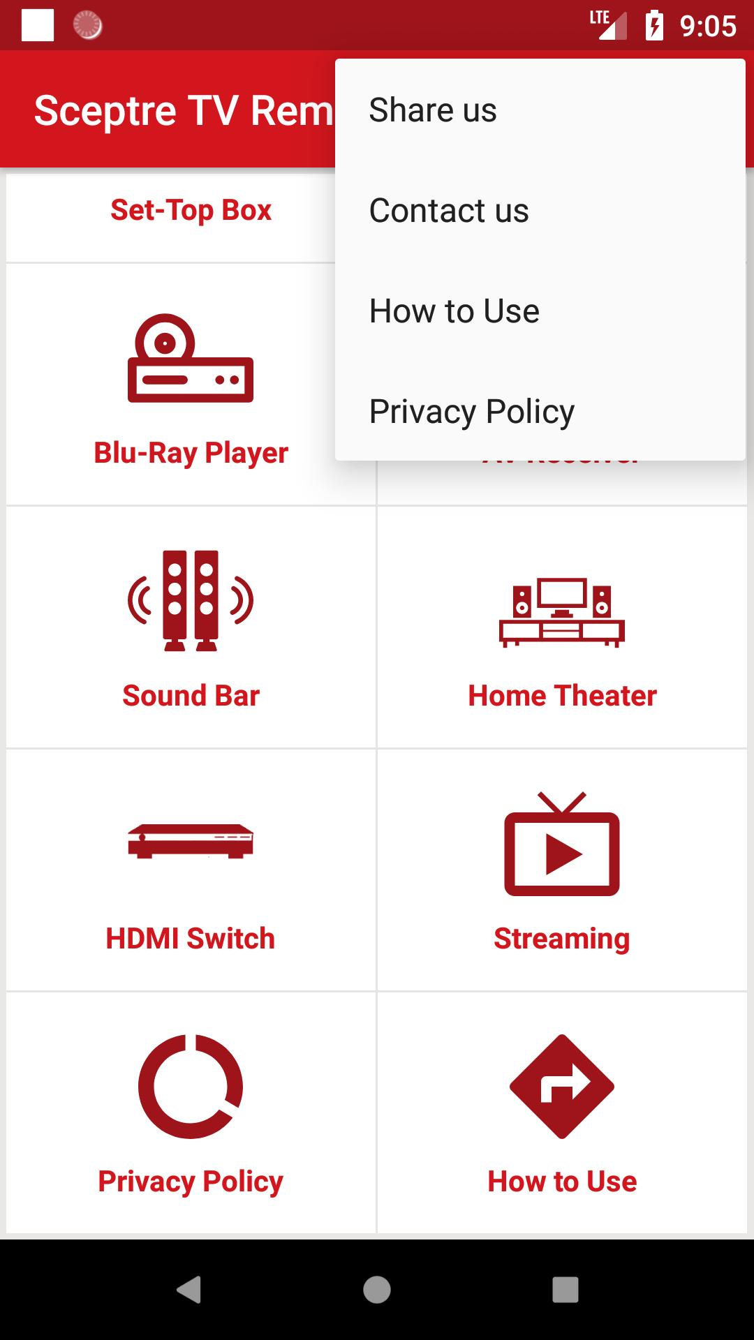 Sceptre TV Remote for Android - APK Download
