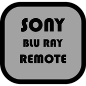 Sony Blu Ray Player Remote icon
