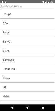 Sony Blu Ray Player Remote screenshot 1