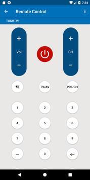 Toshiba TV Remote Control screenshot 5