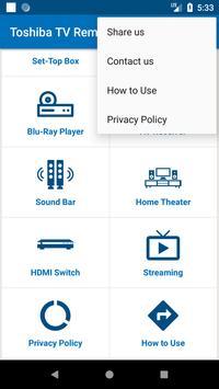 Toshiba TV Remote Control screenshot 7