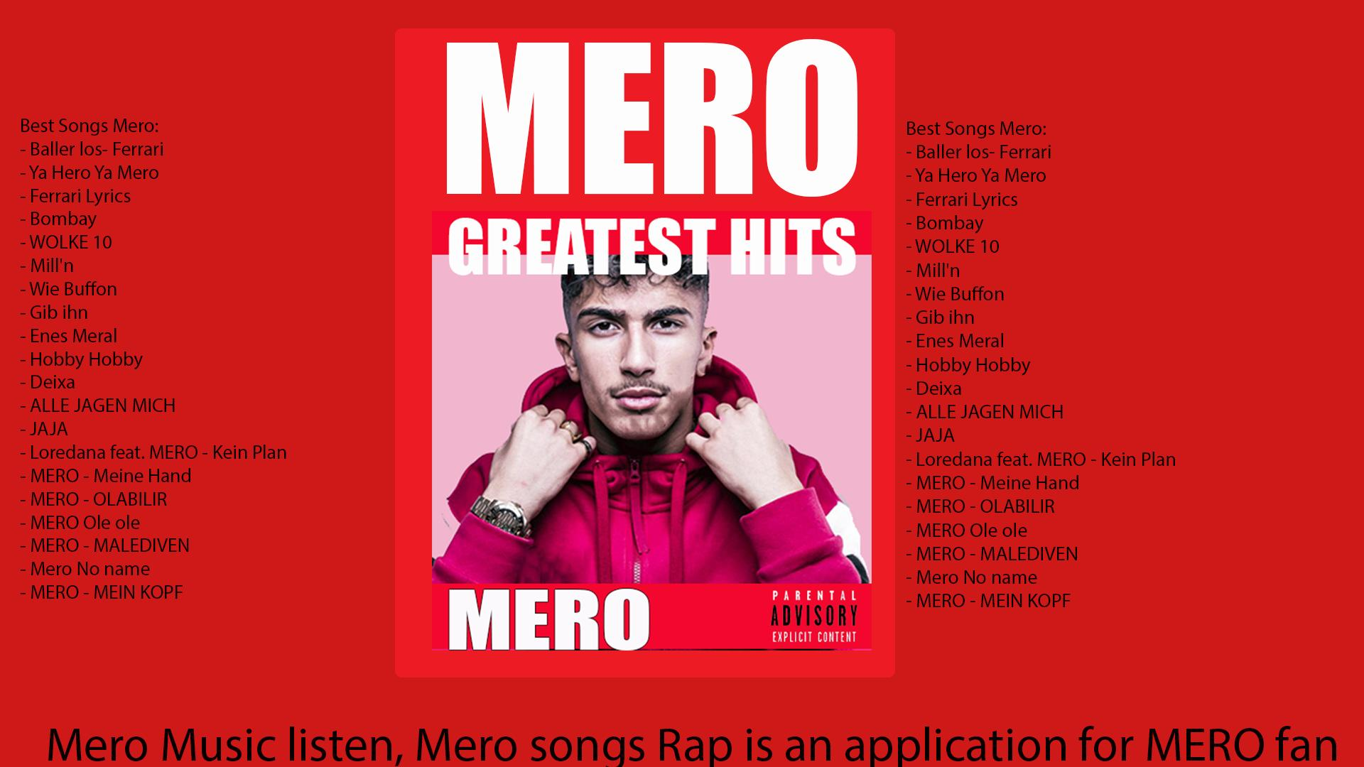 Mero Greatest Songs ميرو For Android Apk Download