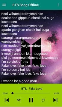 BTS Song plus Lyrics -  Offline screenshot 5
