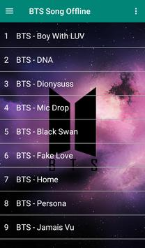 BTS Song plus Lyrics -  Offline poster