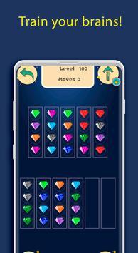 Diamond Sort Puzzle | Sorting Diamonds screenshot 17