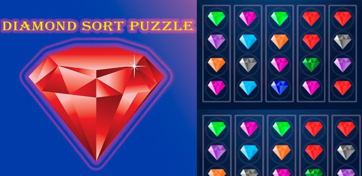 Diamond Sort Puzzle | Sorting Diamonds screenshot 23