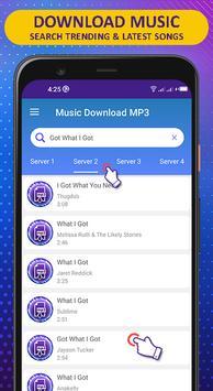 音乐下载MP3-免费歌曲下载器 截图 1