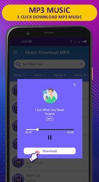音乐下载MP3-免费歌曲下载器 截图 2
