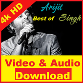 Video & Mp3 Songs by Arijit : Hit Playlists icon