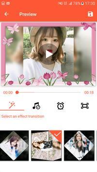 Pembuat Video, Editor Video dengan Foto & Muzik syot layar 5