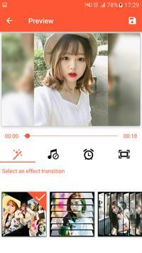 Pembuat Video, Editor Video dengan Foto & Muzik syot layar 17