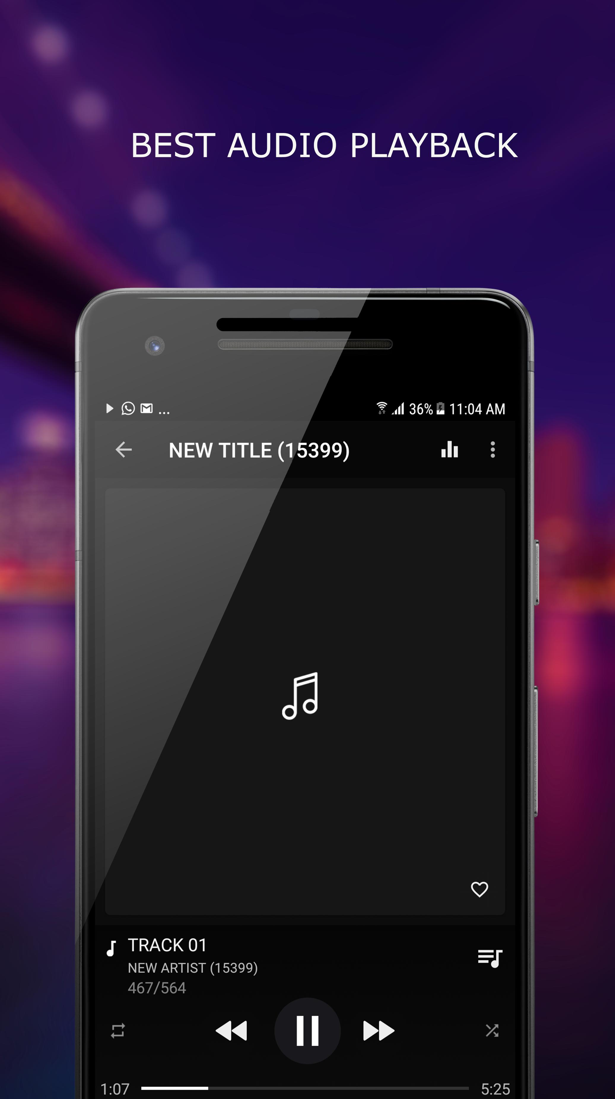 MP3 Player for Android - APK Download