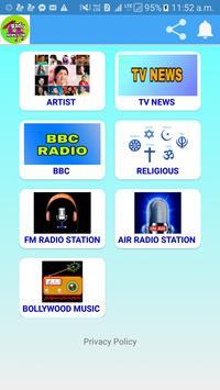 Indian Radio (All India Radio) poster